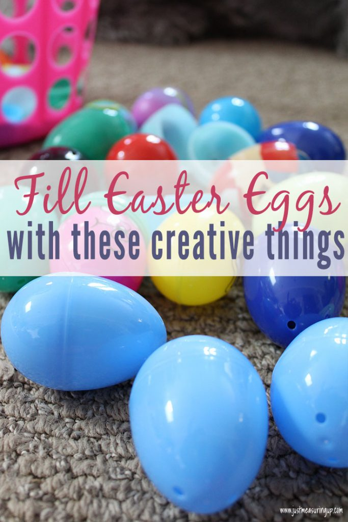 Fill your Easter eggs with these creative things from around your hosue