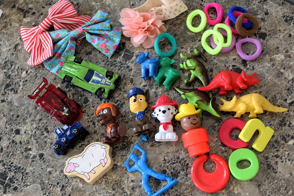 Tiny toys that you can put in Easter eggs for fun thrifty Easter egg hunts