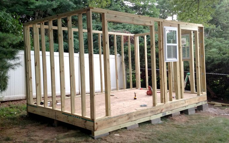 How to Install Shed Siding and Roofing (Phase 2)